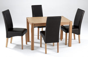 Cyprus Small Ash Dining Set 4 Chairs