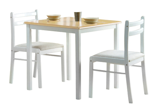 Dinnite Dining Set 2 Chairs White