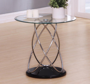 Eclipse Clear Lamp Table