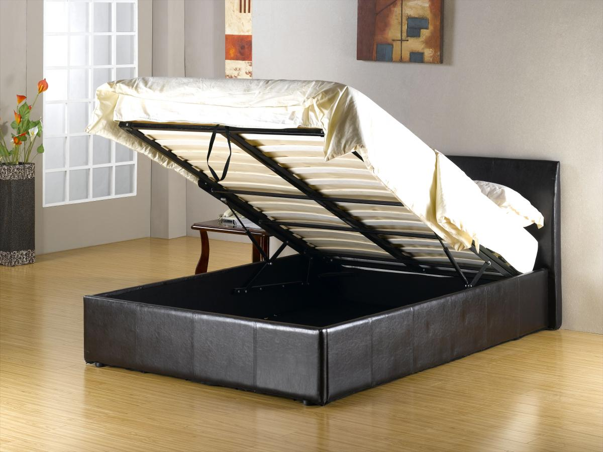 Fusion Storage PU King Size Bed