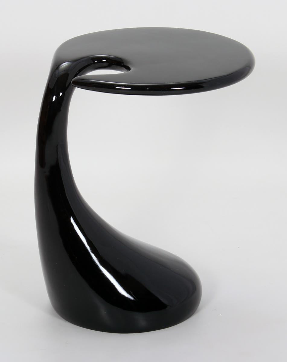 Houston Lamp Table Black