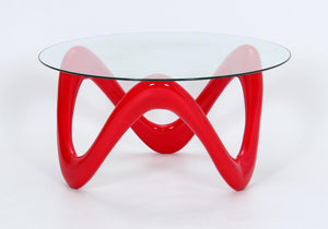 Lamar Coffee Table Red