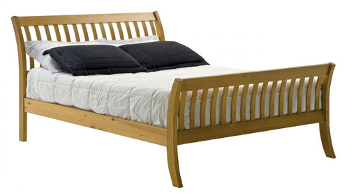 Lapaz Pine Bed 4 Foot Antique