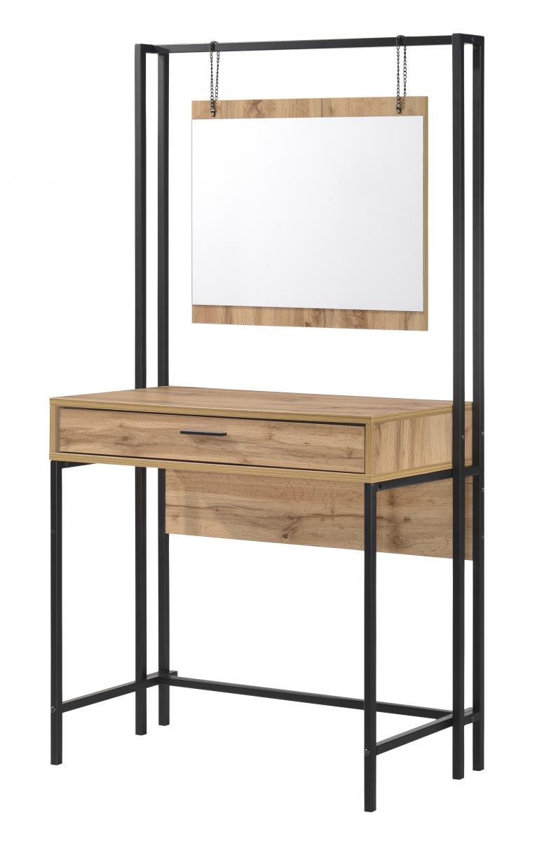 Michigan Dressing Table with Mirror