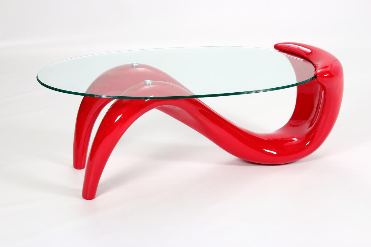 Pike Coffee Table Red