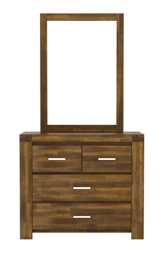 Parkfield Solid Acacia Dressing Table 4 Drawer