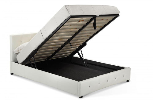 Quartz Storage PU Single Bed