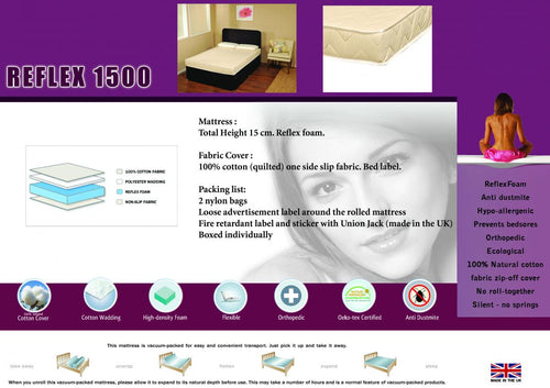 Reflex 1500 Mattress King Size