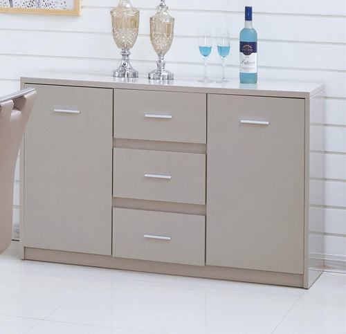 Rembrock High Gloss Sideboard Champagne