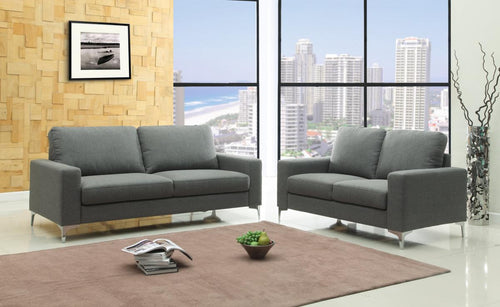 Sally Fabric 3 Seater Sofa