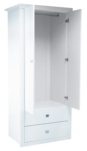 Sokoto High Gloss Wardrobe White