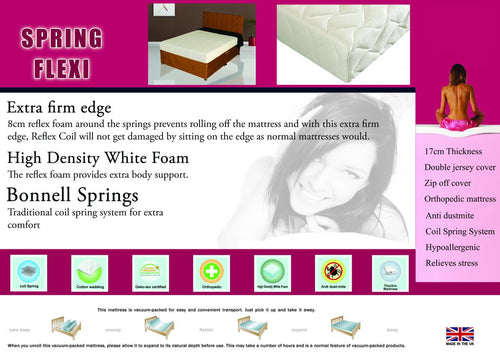 Spring Flexi Mattress Single