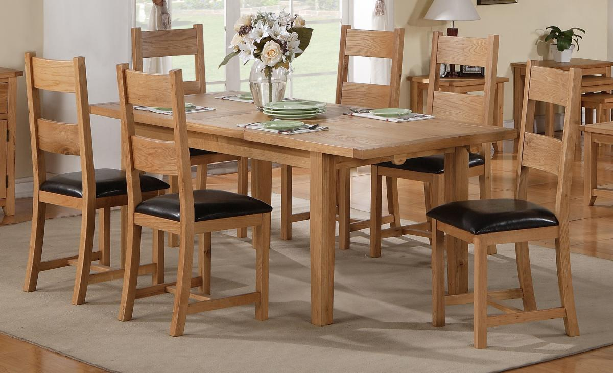 Stirling Dining Set Extending 6 Chairs