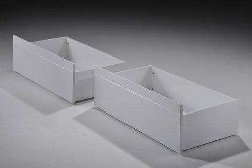 Tripoli Bunk Bed Drawers Pair White