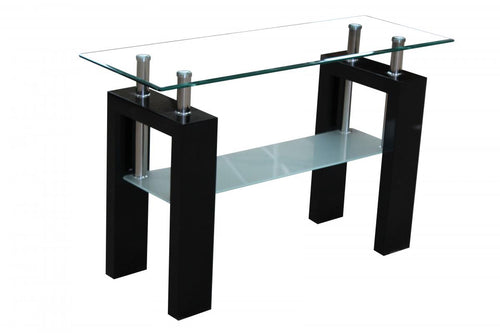 Telford Console Table High Gloss Black