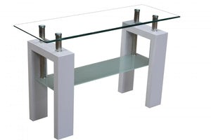 Telford Console Table High Gloss White