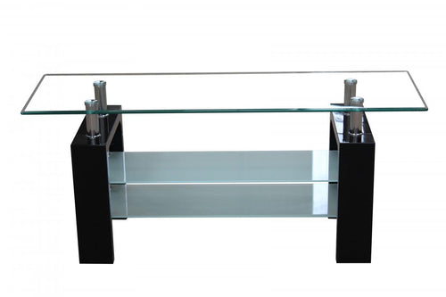 Telford TV Unit High Gloss Black
