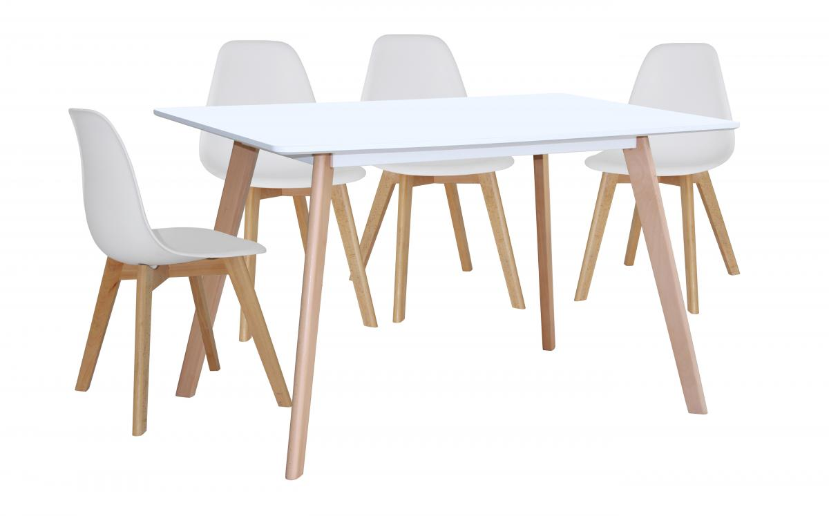 Belgium Large Dining Table White