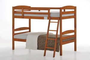 Tripoli Solid Wood Bunk Bed Cherry