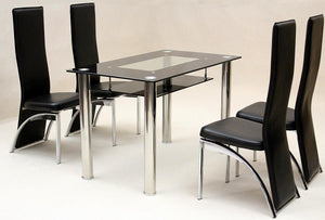 Vegas Small Dining Set 4  Durban Chairs
