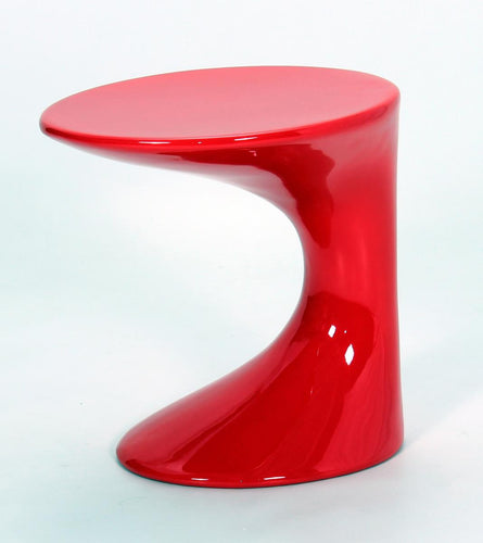 Wilcox Lamp Table Red