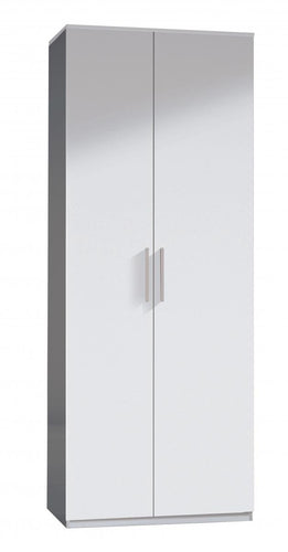 Arctic Wardrobe 2 Door High Shine White