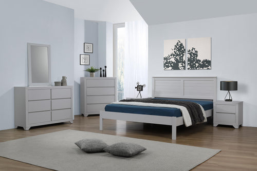 Wilmot Single Bed Grey