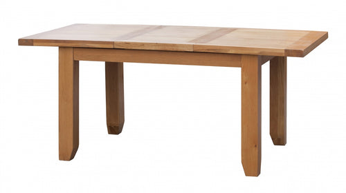 Acorn Solid Oak Extending Table Small