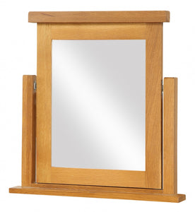 Acorn Solid Oak Dressing Table Mirror