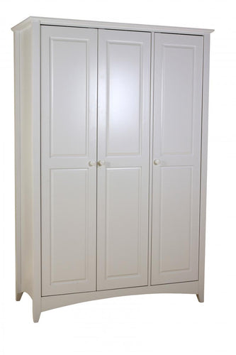 Chelsea White Wardrobe 3 Door