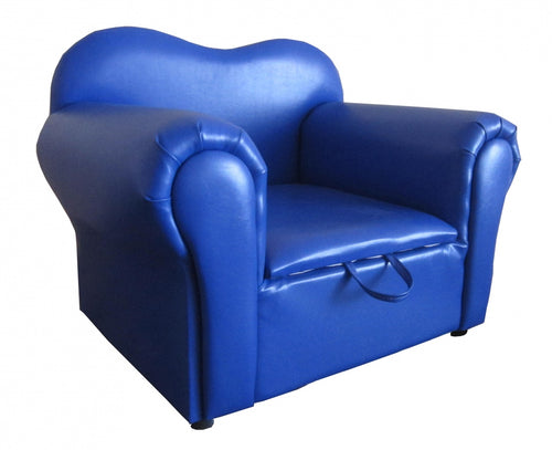 Isabella Kids Sofa PU Blue
