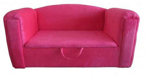 Jake Kids Sofa Fabric Pink