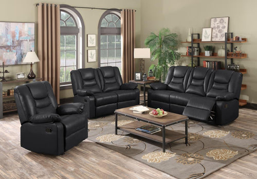 Kirk Recliner Bonded PU 2 Seater
