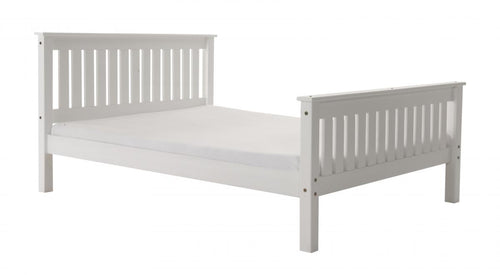Manila HFE Pine Bed 4 Foot White