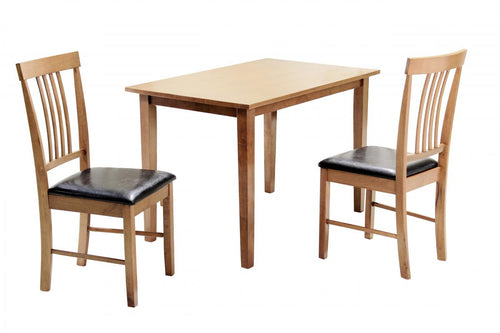 Massa Small Dining Set with 2 Chairs Oak