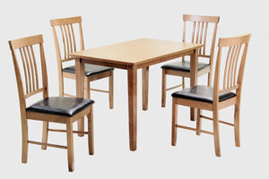 Massa Medium Dining Set with 4 Chairs