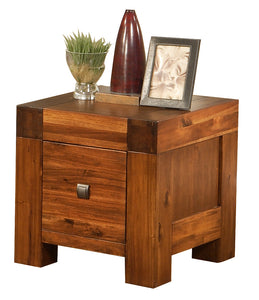 Monaco Lamp Table Acacia