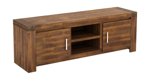 Parkfield Solid Acacia TV Cabinet 2 Door