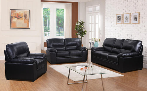 Rachel Sofa LeatherGel & PU 3 Seater