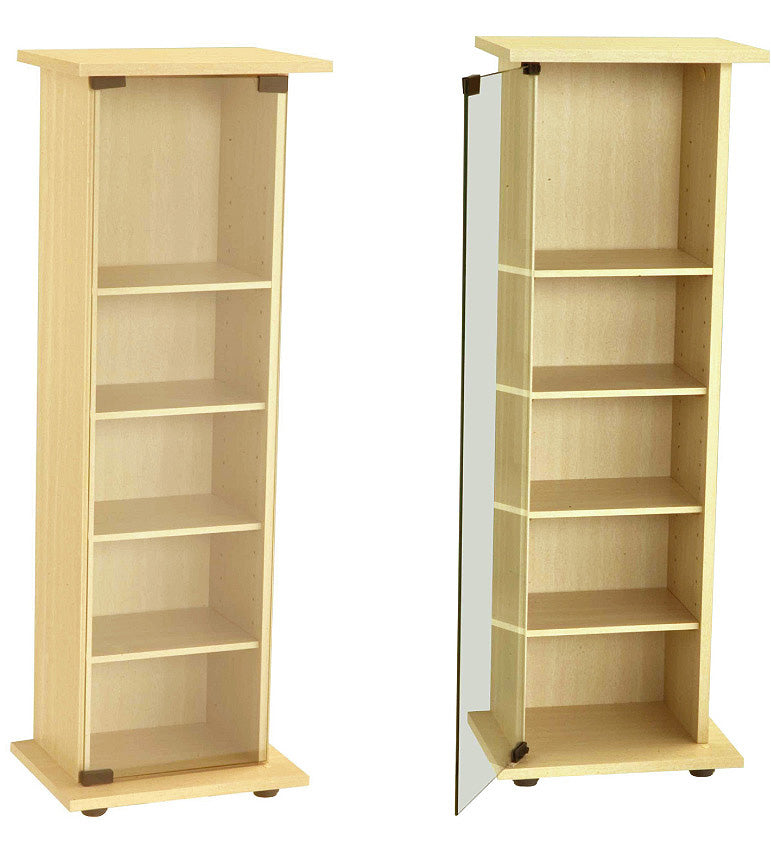 Santos CD/DVD Storage Unit Beech