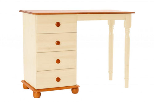 Skagen Cream Dressing Table 4 Drawers