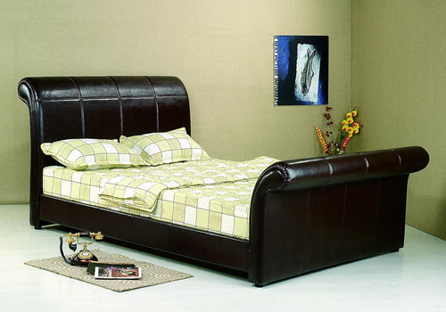 Vermont PU King Size Bed