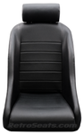67911R Retro Classic Bucket Seats Front View