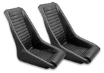 Legend KPGC11 Retro Classic Vintage Racing Bucket Seats | (PVC / Perforated) - Pair