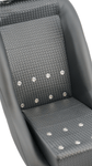 Retro Classic Vintage Bucket Seats with Basketweave and Grommets