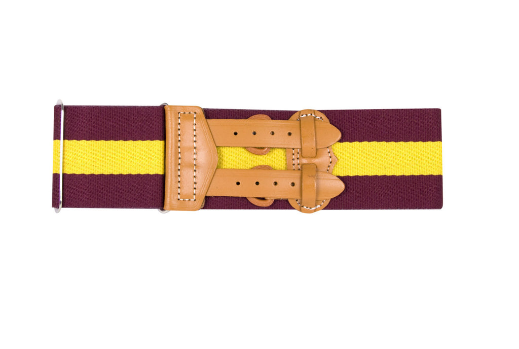 The Royal Regiment of Fusiliers (RRF) Stable Belt