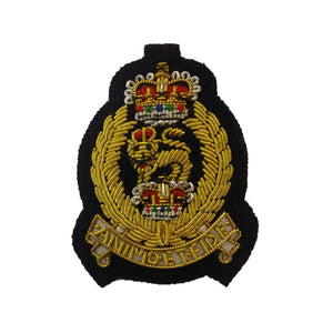 Beret Badge - AGC - Navy B/G