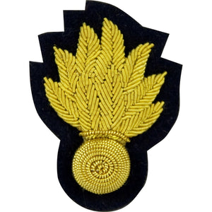 Beret Badge - Grenadier Guards Officers - Navy Backing