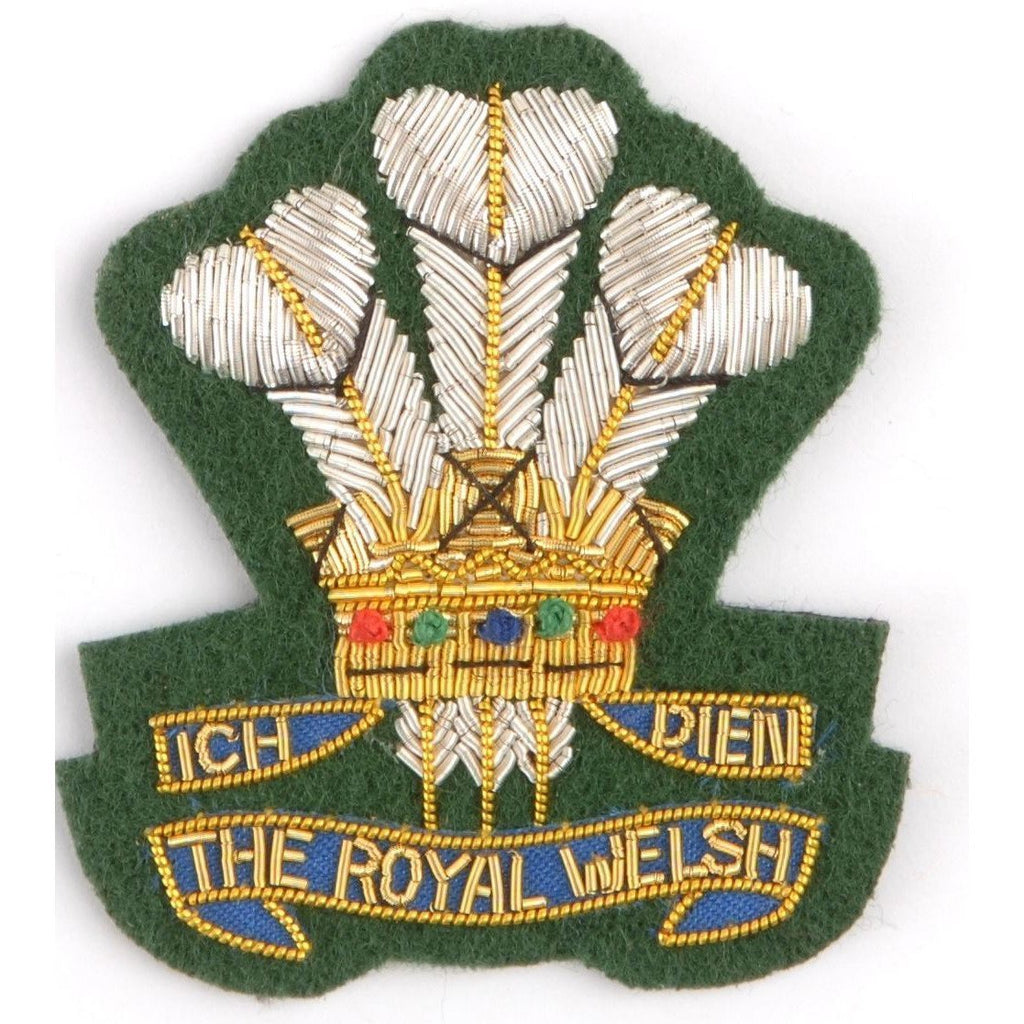Beret Badge - Royal Welsh [product_type] Ammo & Company - Military Direct