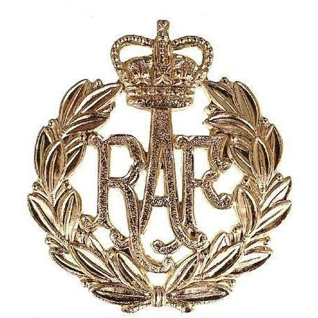 Cap Badge - RAF - Airmen - Brass [product_type] Ammo & Company - Military Direct